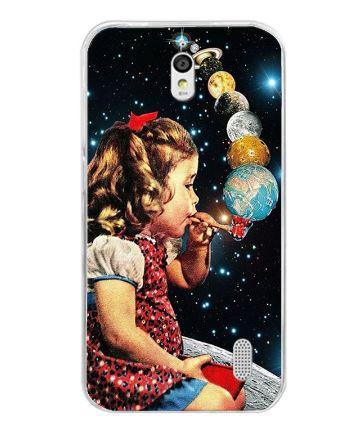 Оригинальный чехол панель накладка для Huawei Y625 с картинкой Планеты