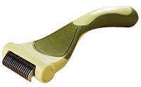 Инструмент для удаления линяющей шерсти у собак Safari Shed Magic New
