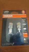 W16W Лампочки в стопы OSRAM LED W16W 12V 2W W2.1X9.5D (T16) LEDriving Premium красный 9213R-02B