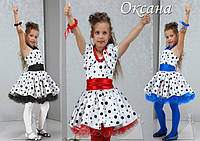 Нарядное новогоднее платье Оксана.