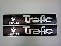 Накладки на пороги Renault trafic