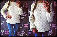 Модный женский свитер Коса