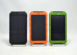 Портативный аккумулятор Power Bank S400 50000 mAh c фонариком и солнечной панелью
