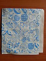 Упаковка бумажная для бургеров с печатью 8.34