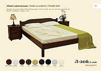 Двуспальная кровать Л-206