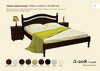 Двуспальная кровать Л-208