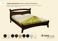 Двуспальная кровать Л-209