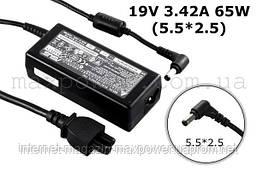 Блок питания для ноутбука MSI 19v 3.42a (5.5/2.5) S260 S262X S300 MS1637