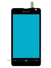 Тачскрин (сенсор) Microsoft Lumia 430 DS (RM-1099) h/c, black (черный)