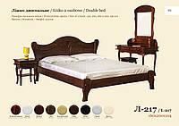 Двуспальная кровать Л-217