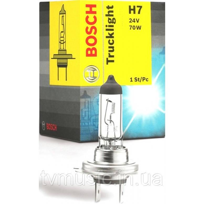 Автомобильная лампа Bosch Trucklight H7 24V 70W (1987302471)