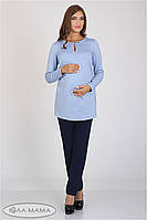 Брюки Inga new для беременных (синий)