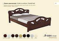 Двуспальная кровать Л-221