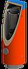 Тепловой аккумулятор, бак с гофрированным змеевиком, 400 л