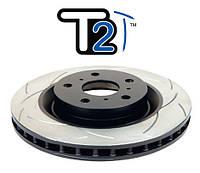 Усиленный вентилируемый тормозной диск  DBA для  Toyota Land Cruiser 80 задние
