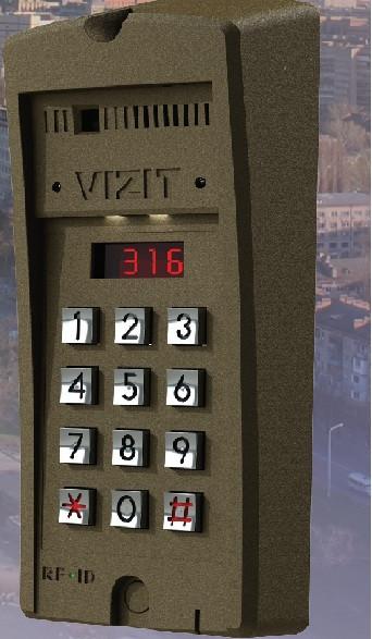 Блок вызова домофона VIZIT БВД-316F