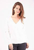 Белая трикотажная кофточка, фото 1