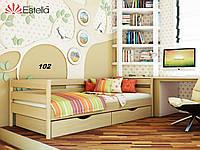 Детская Кровать Нота Бук Щит 102 (Эстелла-ТМ)