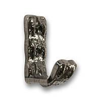 Крючок мебельный модерн SIR2020-ZN29 античное серебро