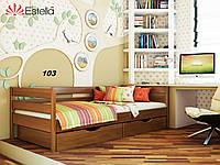 Детская Кровать Нота Бук Щит 103 (Эстелла-ТМ)