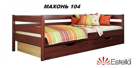 Детская Кровать Нота Бук Щит 104 (Эстелла-ТМ), фото 2