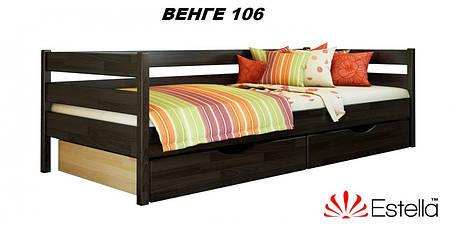 Детская Кровать Нота Бук Щит 106 (Эстелла-ТМ), фото 2