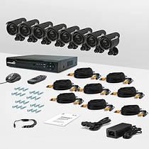 Проводные системы видеонаблюдения
