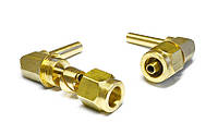 Переходник угловой 90 градусов для трубки ПВХ диаметром 6 мм