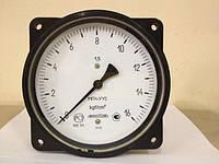 Вакуумметр технический показывающий ВП3-УУ2 осевой штуцер с фланцем (ФОШ)