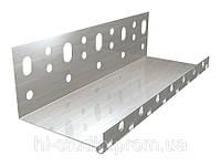 Профиль стартовый (цокольный) алюминиевый, 83мм/0,6мм/2м CT 340 DN/29.3, 25 шт