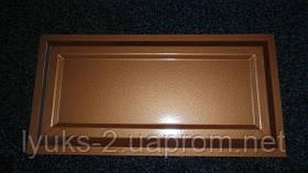 Филенка металлическая для ворот Плитка  500*250
