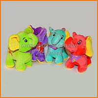 Мягкие игрушки Слоники 18 см