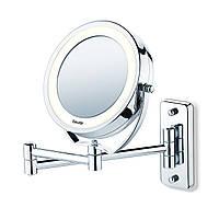 Зеркало косметическое Beurer BS 59 с подсветкой с увеличением 5х настольное