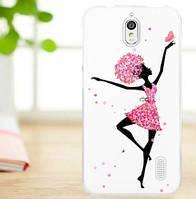 Чехол-накладка для Huawei Y625 с рисунком Танцовщица