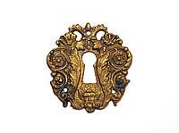 Накладка под ключ DOB-514 античная бронза, фото 1