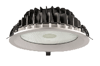 Светильник врезной PLATOS DLR220F/30W 56°, 3000K/4000K/6000K