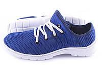 Мужские кроссовки сеточка Синий