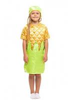 """Маскарадный костюм кукурузы для девочек. (от 4 до 8 лет) """"Karnaval"""" LM-266"""