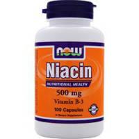Витамин В-3 (Niacin) 500 мг (100 капс.)