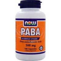 PABA 500мг (100капс.)