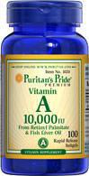 Витамин А 10,000ME (100капс.)