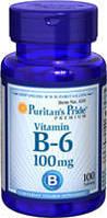 Витамин В-6 100мг (100таб.)