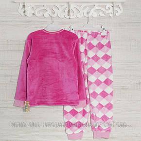 ТЕПЛЫЕ детские махровые пижамы  для девочек _2_3,5лет, 22,17мрж, в наличии 92,104,116  Рост, фото 2