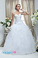 Свадебное платье пышное, красивое