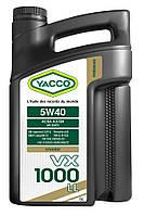 Масло моторное YACCO VX 1000 LL 5W-40 5лит