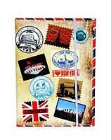 Обложка для прав стильная кожаная ретро модная чехол обкладинка для прав и водительских документов