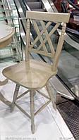 Стул барный деревянный C-14242 LATITUDE