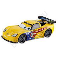 Тачки Jeff Gorvette Die Cast Car Disney Джеф Корвет из мультфильма Тачки Оригинал Дисней