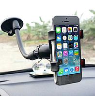 Держатель - присоска в автомобиле для телефона