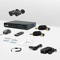 Система видеонаблюдения «установи сам» Страж Контрол 2У (УЛ-480К-2)